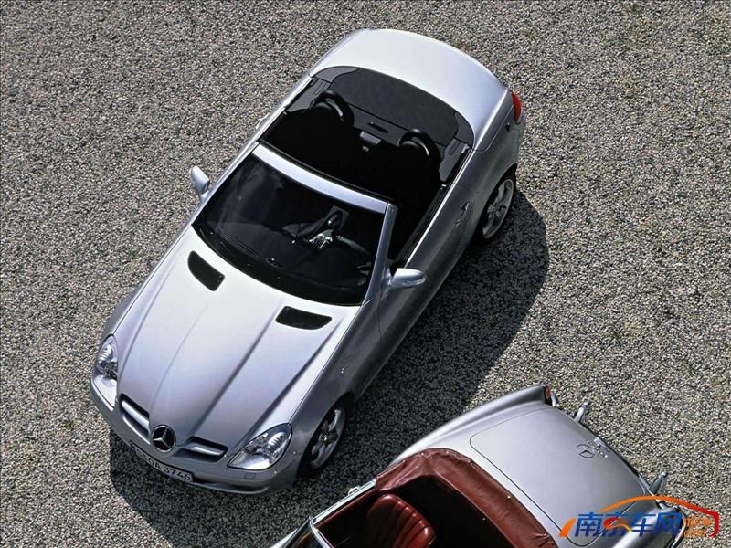 奔驰 slk级 2005款梅赛德斯奔驰slk350汽车图库高清图片