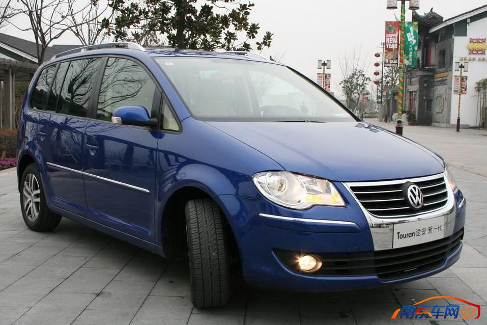 2008款上海大众途安 外观
