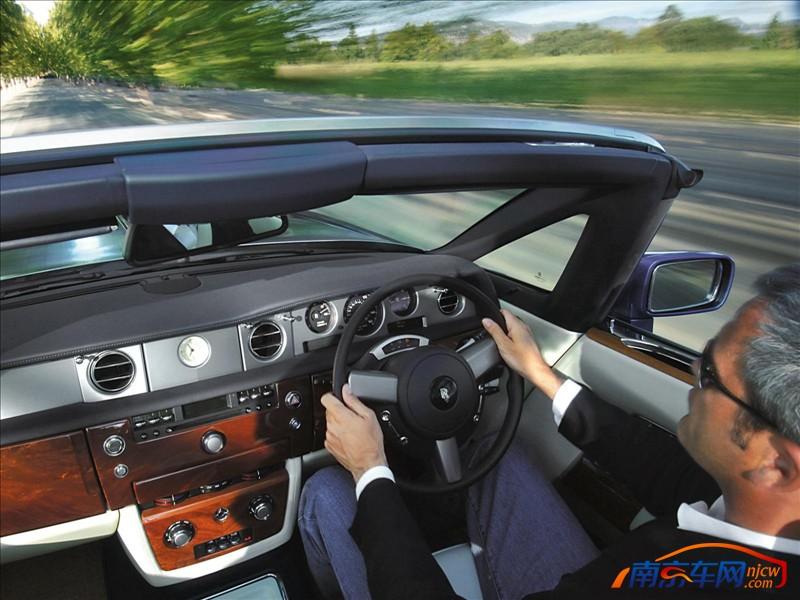 2008款劳斯莱斯幻影软顶轿跑 高清 图片 2008款劳斯莱斯幻高清图片