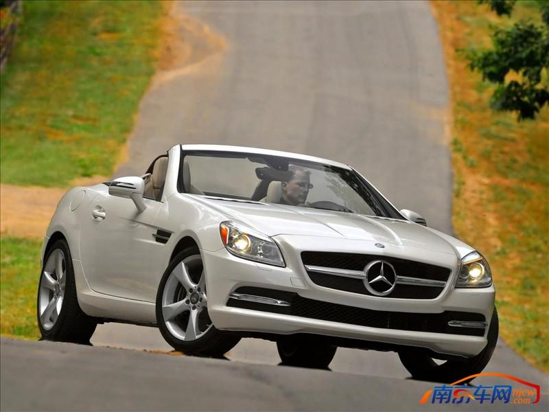 2012款梅赛德斯奔驰slk350 外观高清图片