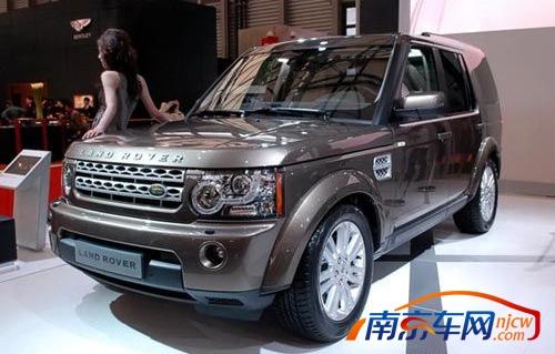 南京2011款路虎发现4有现车 提车需加价高清图片