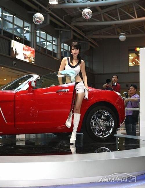 可爱清新 韩国美女车模李智友系列高清图