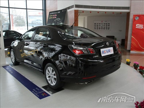 汽车MG6 尾部-南京上汽MG6 Saloon现车优惠8千还送装潢高清图片