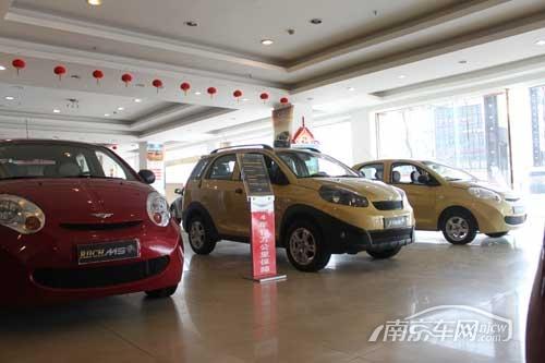 真林汽车4S店 展厅展车 走访真林汽车4S店 实拍瑞麒威麟汽车