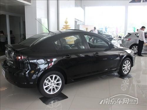 南京马自达3经典版车型享受装潢抵购车款高清图片
