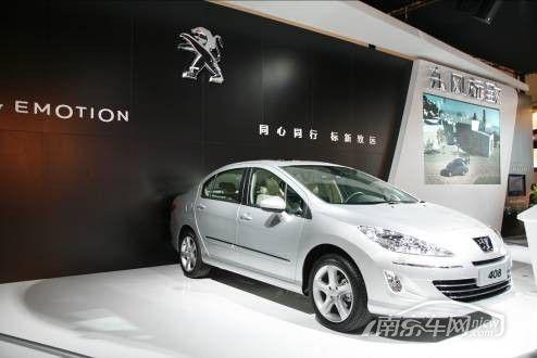 2011款东风标致408 家用轿车的中坚力量高清图片