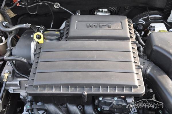 新桑塔纳搭载大众全新的ea211 1.6l自然吸气发动机,而tsi dsg组合