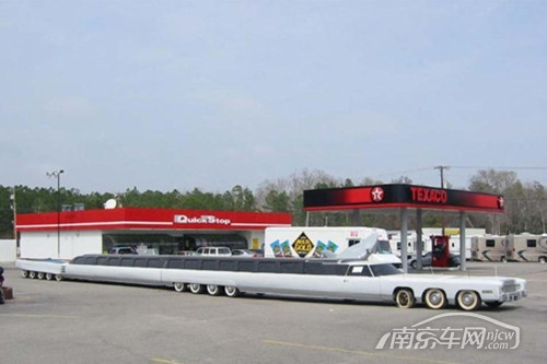世界上最长的轿车:长度