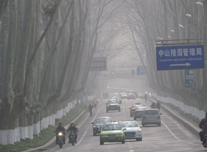 南京修订大气污染防治条例 重污染天气或实行限行