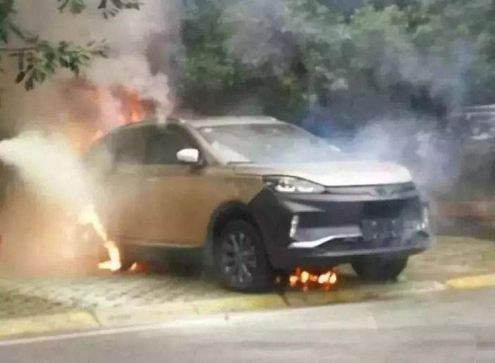 国家质检总局:今年新能源车起火事件40余起