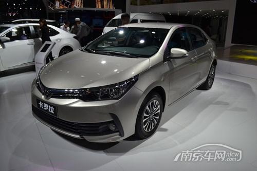 南京一汽丰田卡罗拉有现车 最高优惠1万_南京车网