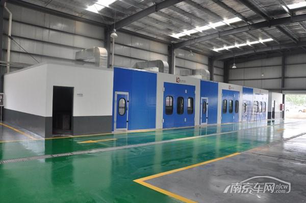 第五家北京现代经销商 访南京正和盛4S店高清图片